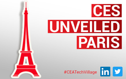 2 start-ups issues de CEA Tech présentes au CES unveiled Paris  :