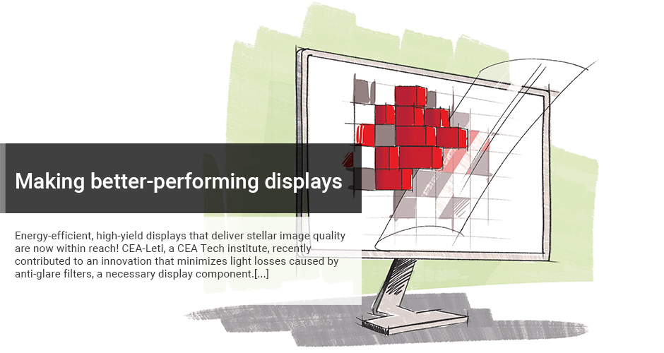 Making better-performing displays