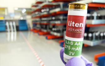 Lithium-sulfur batteries scaled up