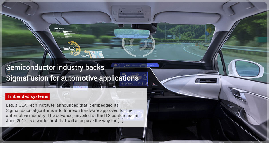 Semiconductor industry backs SigmaFusion for automotive applications