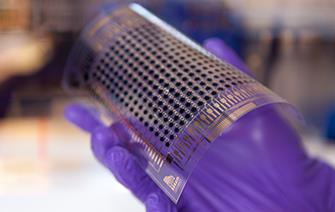 Printed electronics: first-ever active matrix