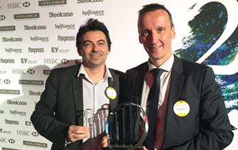 Exagan named Auvergne-Rhône-Alpes region's 2017 startup of the year by Ernst & Young