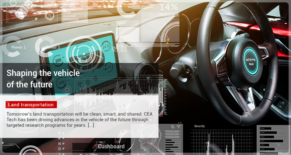 Shaping the vehicle of the future