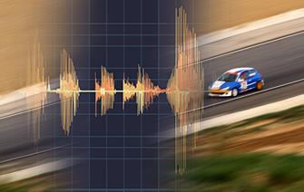 Measuring racecar noise
