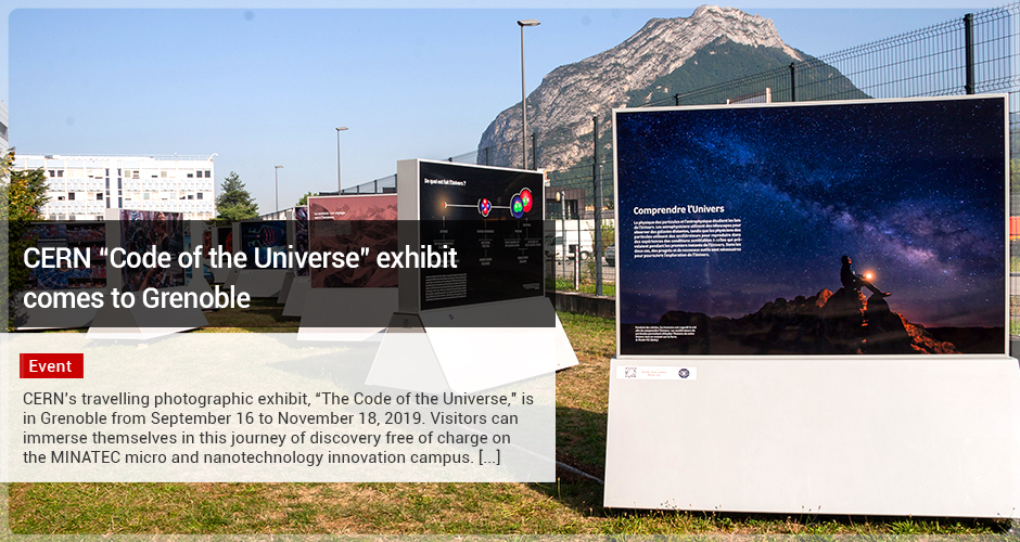 "CERN ""Code of the Universe"" exhibit comes to Grenoble"
