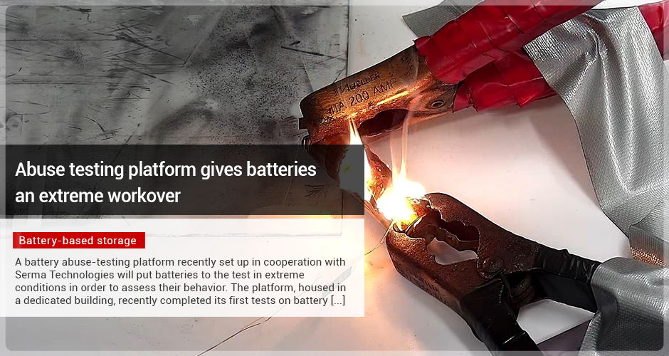 Abuse testing platform gives batteries an extreme workover