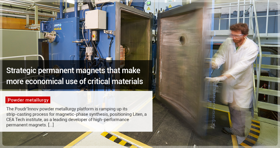 Strategic permanent magnets that make more economical use of critical materials