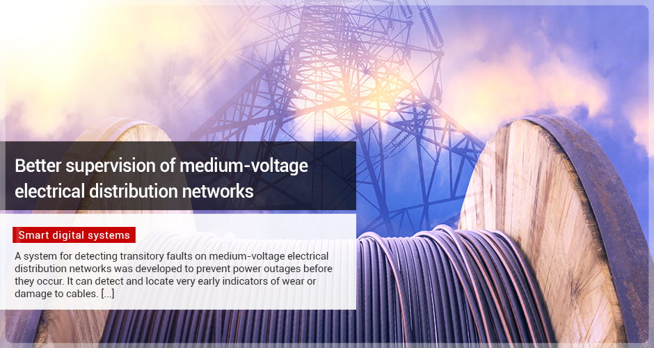 Better supervision of medium-voltage electrical distribution networks